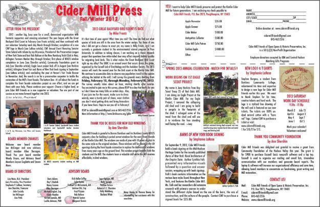Newsletter2012FallPreview