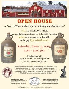 Open House 2015 flyer