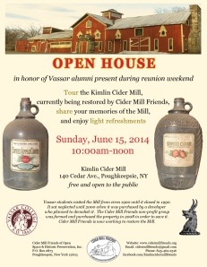 Open House 2014 flyer