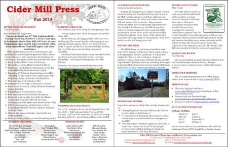 Newsletter2014FallPreview