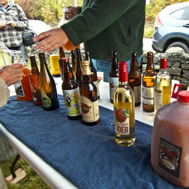 Cider tasting